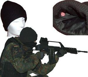 Knit-Allemagne-Barrage-Isaf-SEK-M-Ksk-Chapeau-Idz-Bw-Ceinture-Noir-Bleumarine