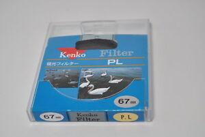 F-S-Kenko-Filter-PL-P-L-67mm-w-case-from-Japan