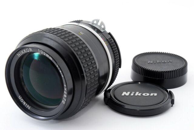 【EXC+++!!】 Nikon Ai Nikkor 105mm f/ 2.5 MF Lens for Nikon F Mount from Japan
