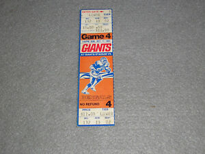 1982-New-York-NY-Giants-VS-Cincinnati-Bengals-NFL-Game-4-Full-Ticket-NJ-Stadium