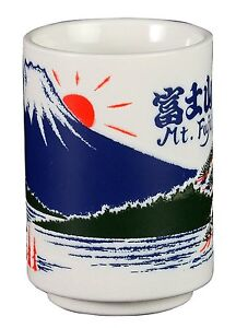 Japanese-Yunomi-Mug-Cup-Fujiyama-Mount-Mt-Fuji-Mountain-C3-MADE-IN-JAPAN