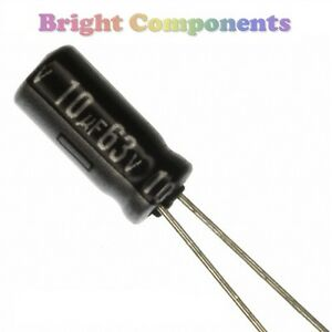 25-x-220uF-Electrolytic-Capacitor-63V-max-105-C-UK-1st-CLASS-POST