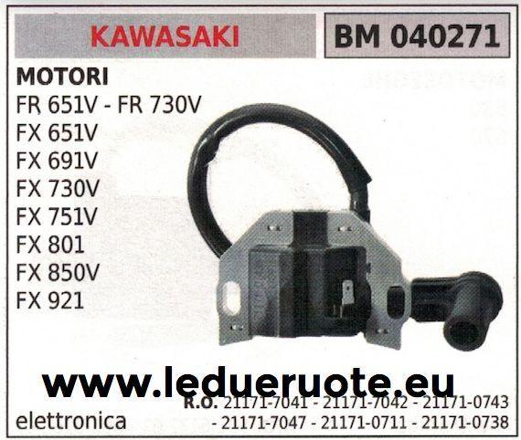 211717041 211717042 211717047 BOBINA ELETTRONICA MOTORE KAWASAKI Fx 801 850V 921