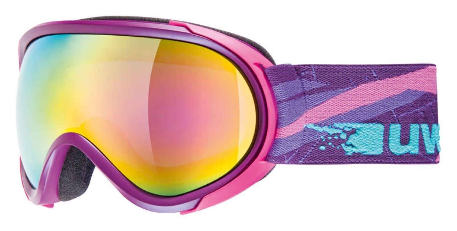 Uvex goggles Ski Snowboard Brille G.GL 7 pure pure pure lila mat Schneebrille glases 2a2621