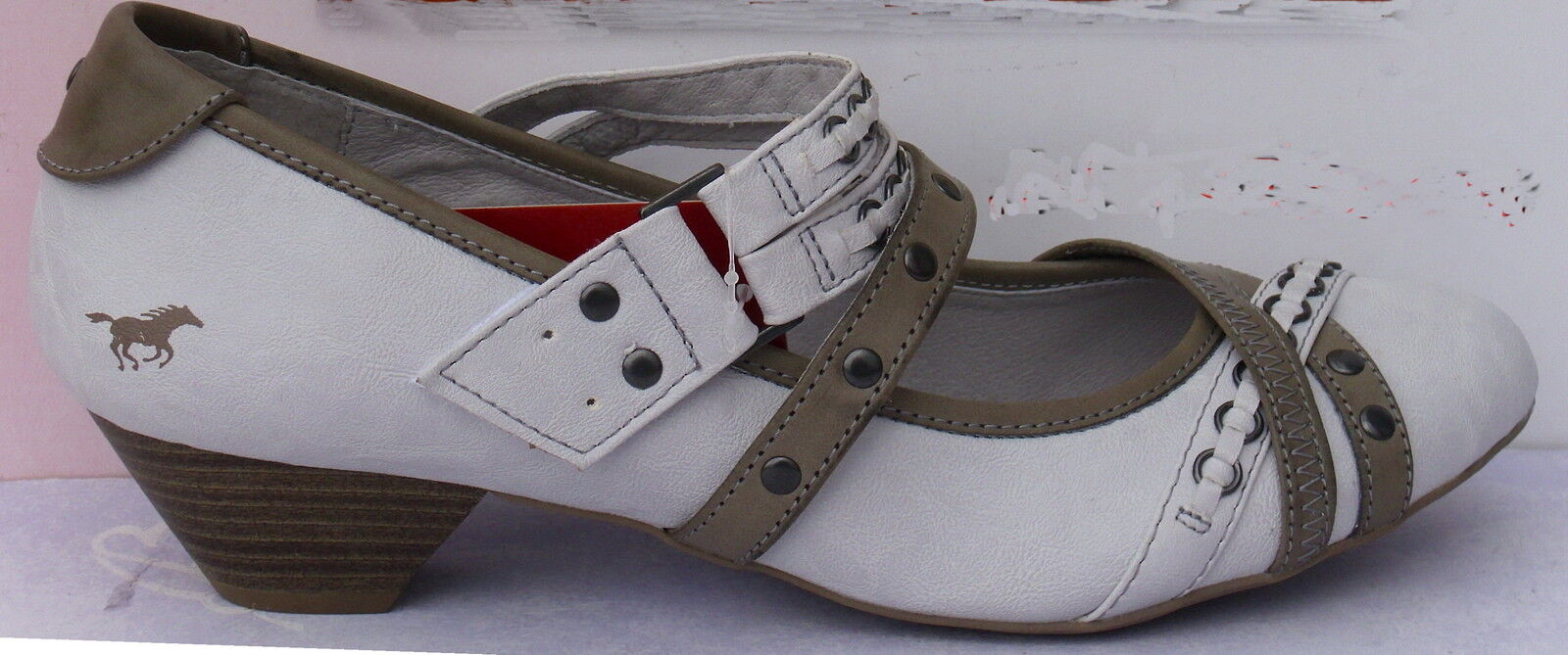 Mustang Scarpe +++ Scarpe da Donna Pumps, Tg. 43-44 +++ Scarpe NUOVO +++ misure grandi 611b6a