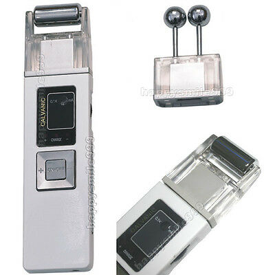 New Microcurrent Galvanic Face Lift Ion Skin Care Spa