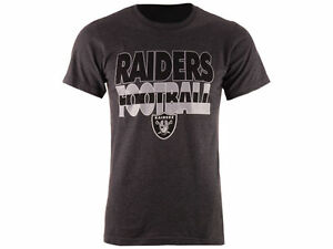 5925d384 Details about OAKLAND RAIDERS NFL 2-SIDED LOGOS CHARCOAL GRAY CLUTCH  T-SHIRT BY MAJESTIC NWT