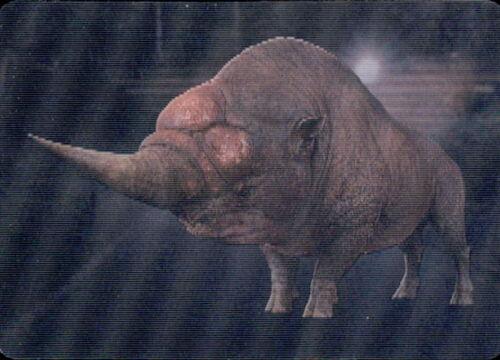 Panini fantástica criatura animal serie 2 grindelwalds crímenes sticker nº 123