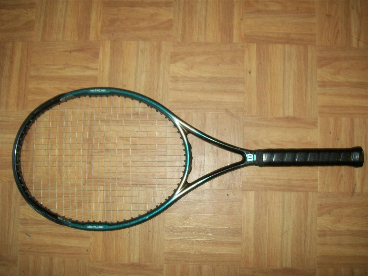 Wilson Hammer 5.0 Stretch OS 110 4 Racquet 1/4 grip Tennis Racquet 4 95fcba