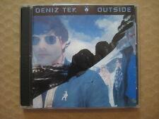 DENIZ TEK Outside / Insideout AUSSIE 2 x CD 1994 OOP - RED CD 38 - RADIO BIRDMAN