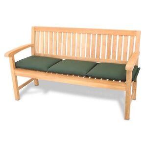 roggemann polster kissen auflage f r bank 3 sitzer 150 cm waschbar gr n ebay. Black Bedroom Furniture Sets. Home Design Ideas