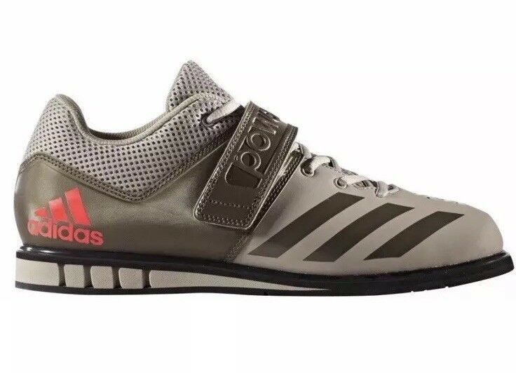 ADIDAS Powerlift.3.1 Weightlifting Shoes Mens Size 15 BA8017 Beige