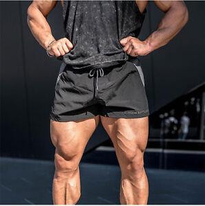 Image Is Loading Hot Men Gym Shorts Bodybuilding Training Running