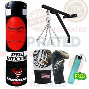 New Christmas Gift 5Ft Heavy Filled Boxing Punch bag Martial Arts Training Set
