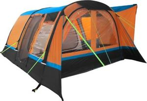 INFLATABLE-DRIVE-AWAY-CAMPERVAN-AWNING-OLPRO-COCOON-BREEZE-ORANGE-amp-BLACK