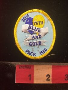 Boy-Scout-Patch-Pack-1550-Blue-amp-Gold-75th-Anniversary-Balloons-70T1