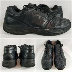 New-Balance-623-Black-Leather-Cross-Walking-Running-Trainer-Shoes-Men-039-s-Sz-11-5