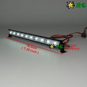 Rc 110 aluminum led light bar 6 74v w jr plug f tamiya axial la foto se est cargando rc 1 10 de aluminio luz led bar aloadofball Images