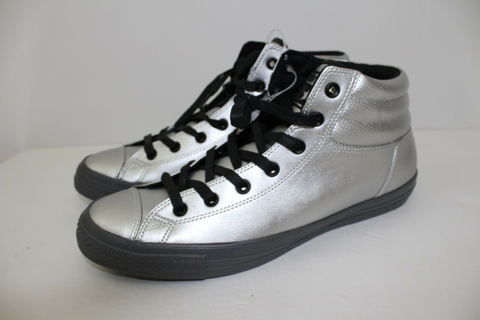 Converse Silver/Thunder/Black All Star Fresh Men's Shoe - Silver/Thunder/Black Converse 152661C - Size 13 48b58b