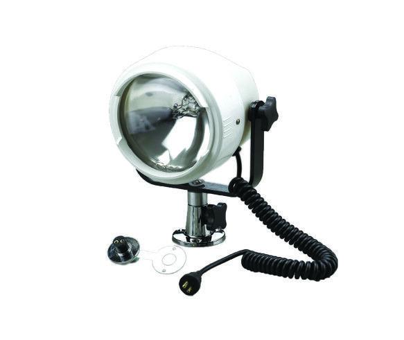 Waterproof White Spot Light Search Light 12 Volt 100W Mount - Boat Sailing SS22