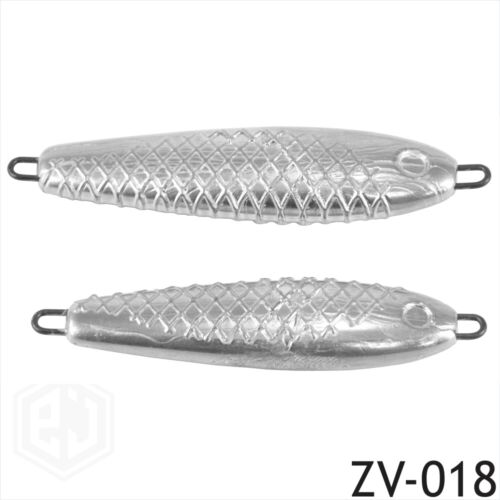 Mackerel Spinners Lures Pirk sea fishing CNC mould muppet cod wreck lead 2.5 3.5