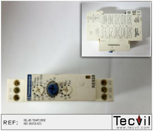 Telemecanique RE826 Relais temporisé