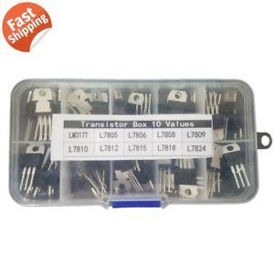 50-Assorted-Voltage-Regulator-10-value-LM317-L7805-L7806-L7808-L7809-L7810-L7824
