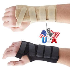 Hand-Support-Wrist-Brace-Carpal-Tunnel-Sprain-Splint-Stablilizer-Arthritis-Gym