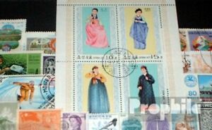 Asia 100 different stamps