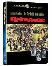 RAMPAGE (1963 Robert Mitchum) - Region Free DVD - Sealed