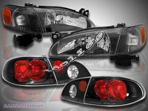 Image Is Loading 1998 2000 Toyota Corolla Headlights Corner Lights Tail