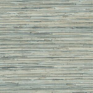 Image Is Loading Blue Grey Faux Grasscloth Wallpaper NT33703