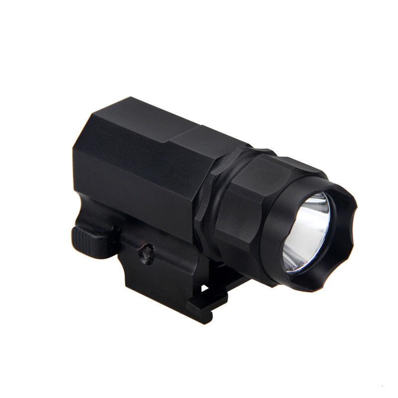 Tactical 6000LM LED Gun Rifle Shotgun flashlight Mount Hunting Light CR2 Lamp G3