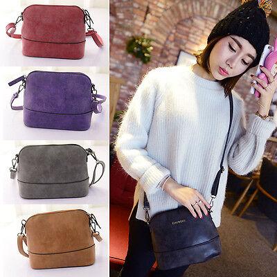 Women Scrub Shoulder Bag Handbag PU Leather Purse Satchel Messenger Bag Ornate