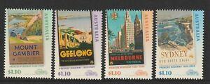Australia-2020-Princes-Highway-Stamps-Design-set-Mint-Never-Hinged