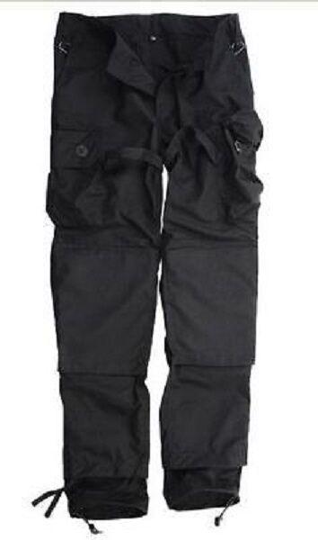 TACGEAR KSK Smock Pantaloni all'aperto tempo libero campo pantaloni pants NERO XL Xgree