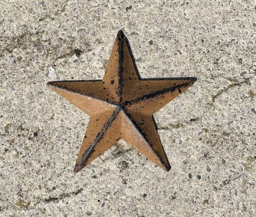 """Rustic Rusty Tin Metal star 4"""""""