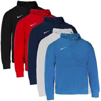 Nike Team Club Full Zip Hoodie Hommes Veste Outdoor Veste Capuche aj1313-451