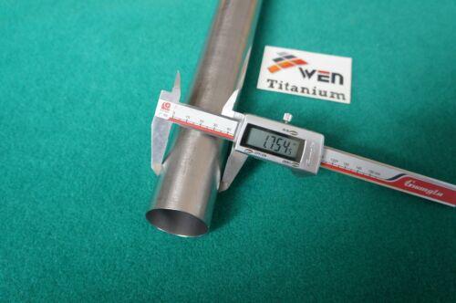 "Titanium Grade 9 Tube 1.75/"" x .035/"" x 20/"" Seamless 3al-2.5v Round Tubing"