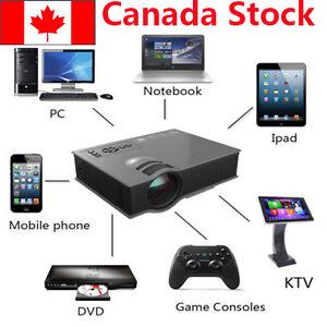 MINI UC46 Wifi HD 1080P LED Video Projector 3D Wifi Home Theater SD TV/USB/VGA