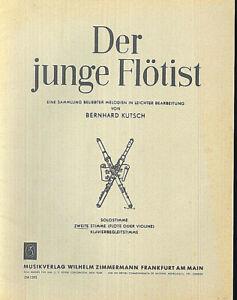 034-Der-junge-Floetist-034-Hrsg-Bernhard-Kutsch-Floete-und-zweite-Stimme