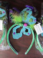 Lot Of 3 Silvestri Mardi Gras Hair Band Headband $54.00 Retail