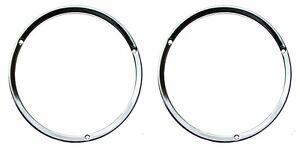 Ring Bezel Price is Each NEW 1967-68 Ford Mustang HEADLIGHT DOOR