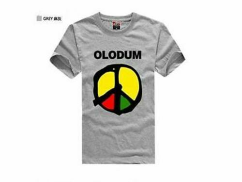 Hot Sell New Popular Solid Color Cotton Tops Michael Jackson OLODUM T-shirt