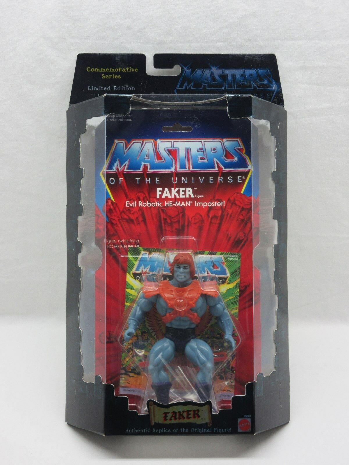 MOTU,Commemorative FAKER,MISB,sealed,Masters of the Universe,MOC,He-man