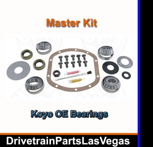 Dana 30 Jeep CJ YJ Wrangler XJ Cherokee Front Master Install Bearing Rebuild Kit