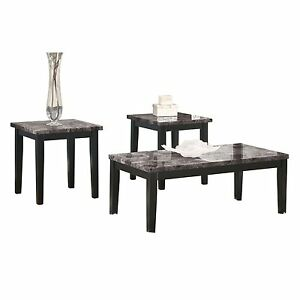 Image Is Loading Ashley Furniture Occasional Table Set 3 CN Maysville
