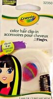Crayola Hair Extension Clip On Pin Halloween Costume Accessories Beauty