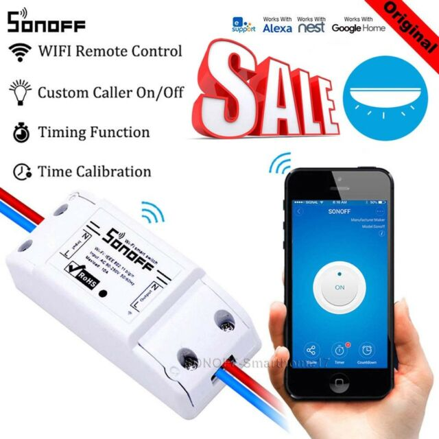 Sonoff ITEAD Smart Home WiFi Wireless Switch Module For Apple Android APP NEW