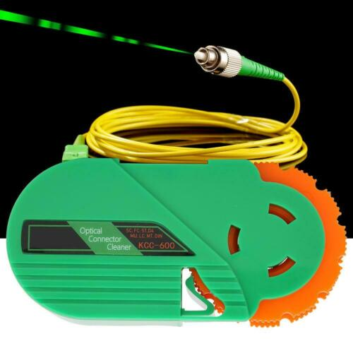 KCC-600 Fiber Optical Cleaning Tool for FC//SC//LC//ST//MU//D4//DIN 500 times